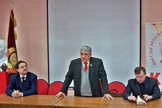 Лидера КПРФ в Татарстане Хафиза Миргалимова обвинили в попытке приватизировать предвыборный штаб Павла Грудинина