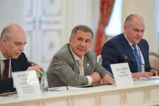 Минниханов: Татарстан является пятым пообъемам поступлений в русский бюджет