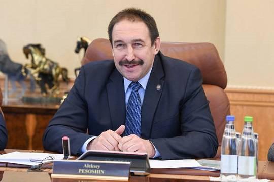 Алексей Песошин— кандидат напост премьера Татарстана